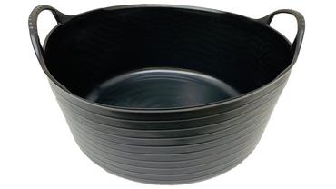 Flexibler Eimer, Tragekorb - 15 Liter - Auffangbehälter - Garteneimer - perfekt für Wurmsieb und Madensieb
