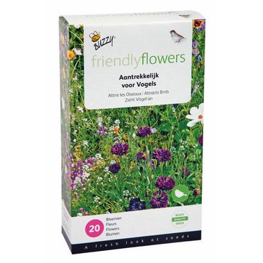 Buzzy® Friendly Flowers Mix Vögel für 15m²