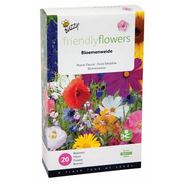 Buzzy® Friendly Flowers Mix Blumenwiese für 15m²