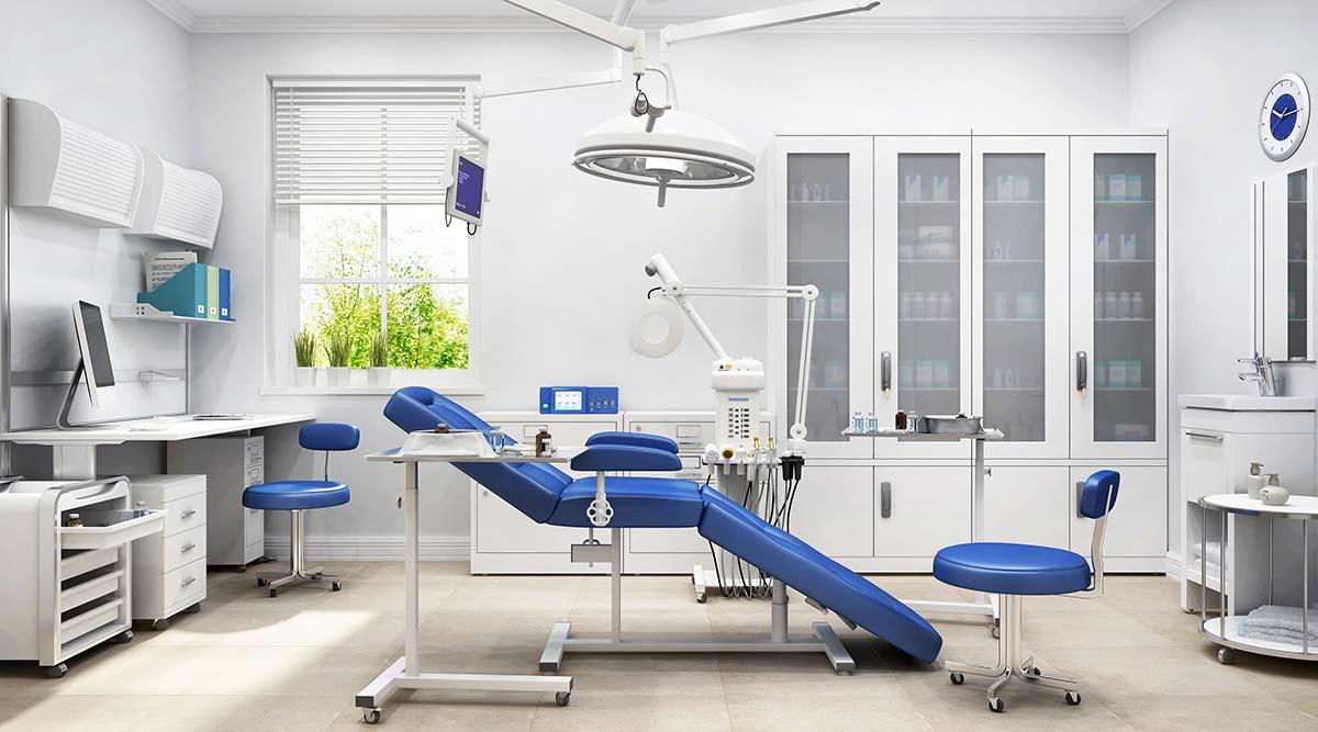 Untersuchungsräume sind mit hygienischen Abfallbehältern optimal ausgestattet.