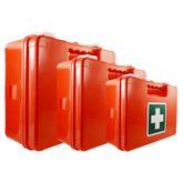 Erste Hilfe Kasten mit Wandhalterung in 3 Größen Betriebsverbandkasten
