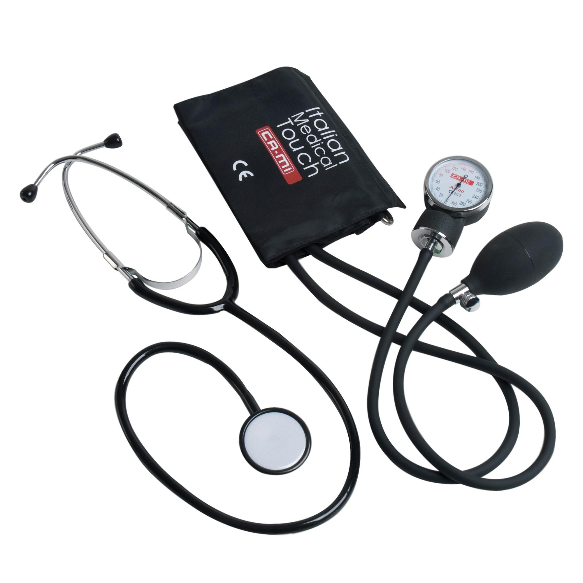 CA-MI A-100 Aneroid Blutdruckmessgerät + Stethoskop Diagnostik ...