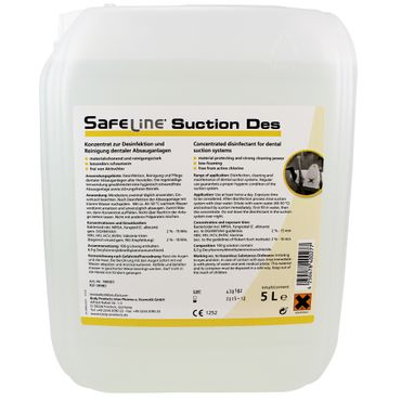 Safeline SUCTION DES Konzentrat 5 Liter