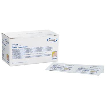 MaiMed® Alkoholtupfer 3 x 3 cm, 100 Stück Weiß