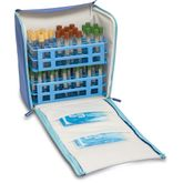 Elite Bags COOL`S Labortasche Blau 44 x 29 x 39 cm – Bild 5