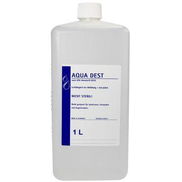 23 x Aqua Dest 1 L destilliertes Wasser