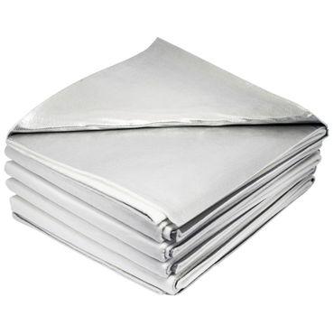 NOBALINE-Betttuch aluminiumbeschichtet 80 x 250 cm