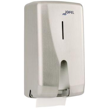 Jofel FUTURA 2-fach Toilettenpapierspender Edelstahl