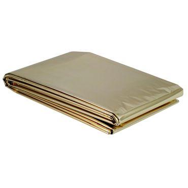 100 x NOBA Rettungsdecke Erwachsene 160 x 210 cm Gold/Silber