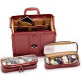 Elite Bags DOC'S Klassik-Arzttasche Braun Leder 37 x 26 x 24 cm – Bild 3
