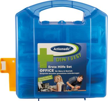Actiomedic® FIRST AID Verbandkoffer OFFICE mit DIN 13157