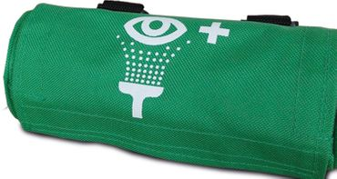 Actiomedic® Gürteltasche Grün für 250 ml Augenspülflaschen, leer