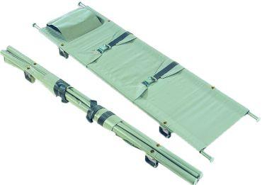 Krankentrage nach DIN 13024 Typ N Grau, 1 x klappbar