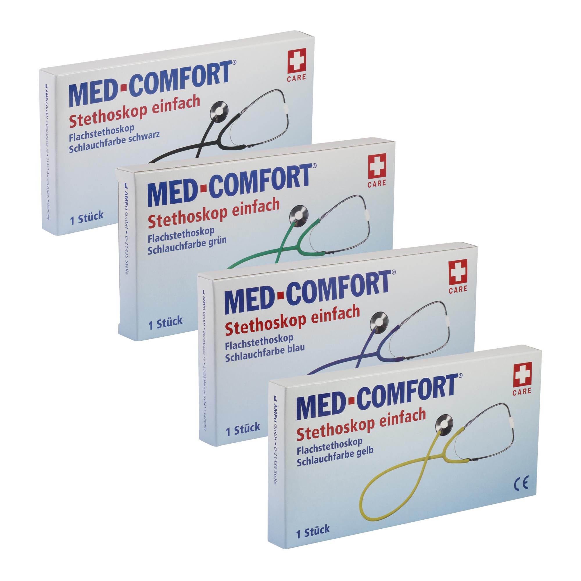 MED-COMFORT Flachkopf-Stethoskop Diagnostik Allgemeine Diagnostik ...