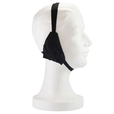 ratiomed Ohrenbinde aus Baumwolle Schwarz