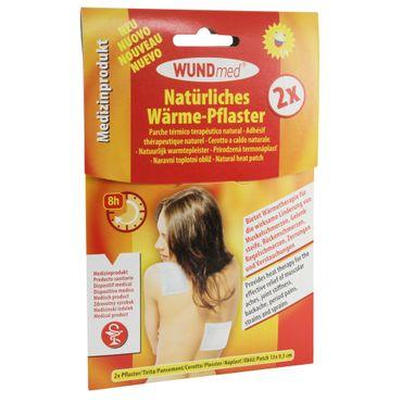 WUNDmed® Wärme-Pflaster 13 x 9,5 cm 2 Stück/Packung