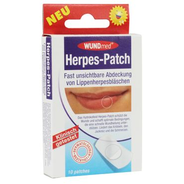 WUNDmed® Herpes-Patch 10 Stück/Packung