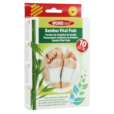 WUNDmed® Bambus Vital-Pads 10er Set