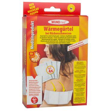 WUNDmed® Wärmegürtel mit 4 Pads