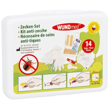 WUNDmed® Zecken-Set 14-teilig