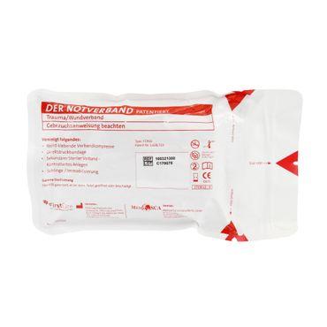 Zivil Weiß Emergency Bandage 10 cm x 4,5 m