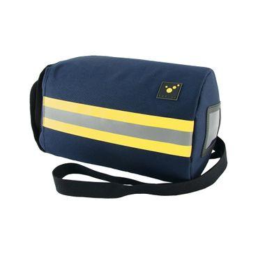 tee-uu RESPI LIGHT XL Atemschutzmasken-Tasche 25 x Ø 18 cm Blau