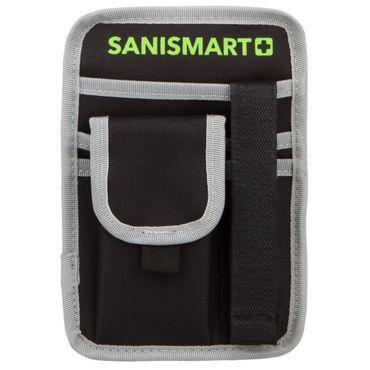 SANISMART  Holster Professional XL Schwarz 19 x 13,5 x 2 cm