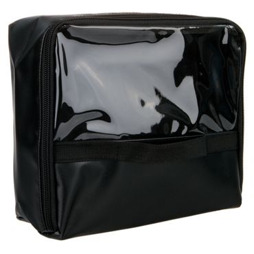 Modultasche Schwarz Plane 24 x 20 x 10 cm für Notfallrucksäcke