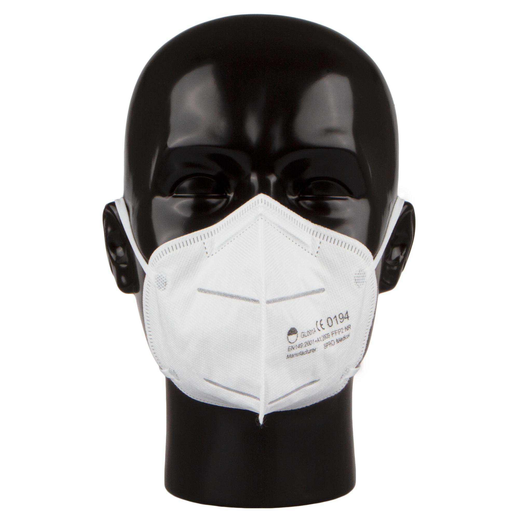 FFP2 Maske Mundschutz Atemsschutzmaske Filtereffizienz ...