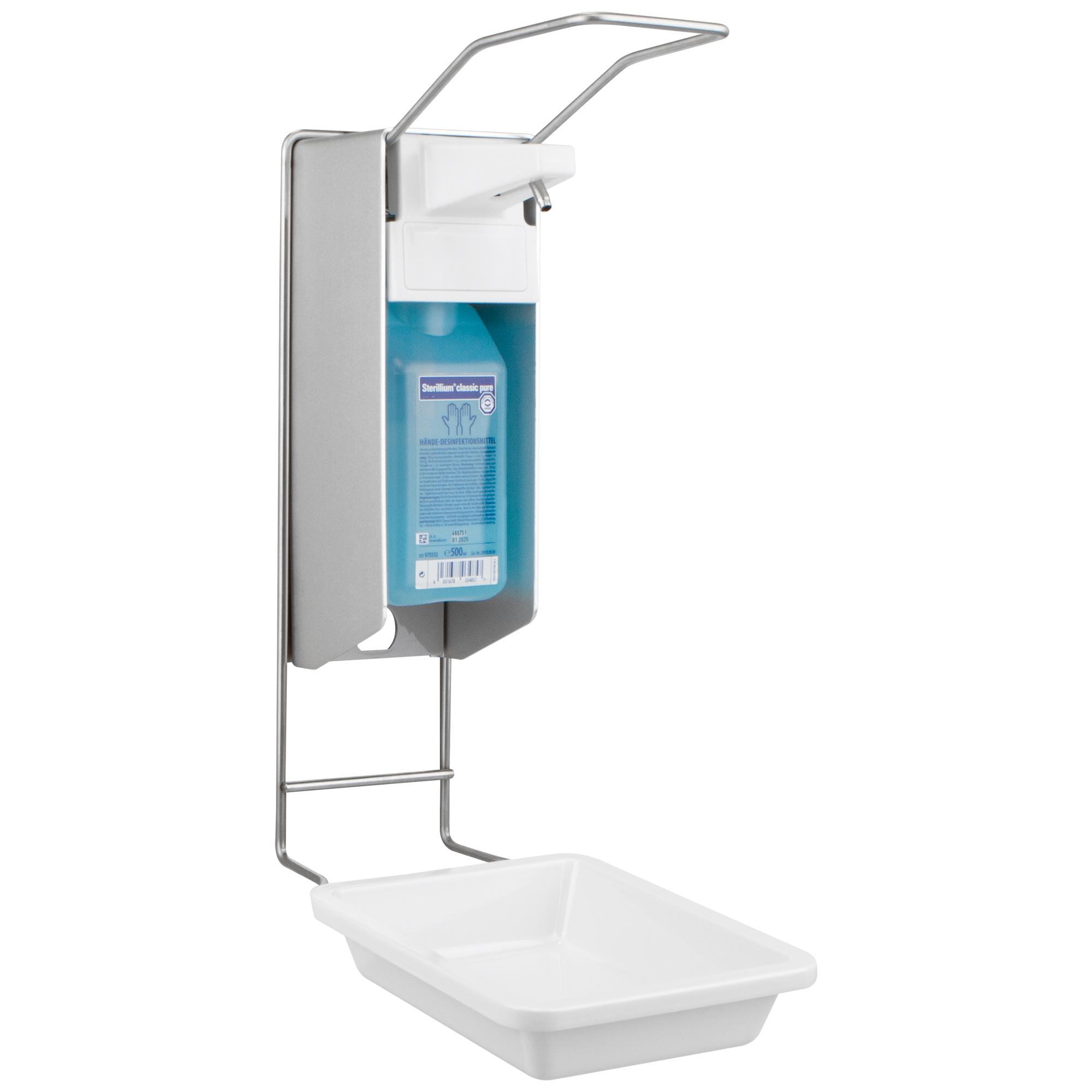 SANISMART Desinfektionsmittelspender + Tropfschale Kunststoff   eBay