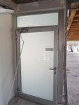 ALU-Rauchschutztür/Schüco/ Eingangstür. AF 7