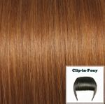 clip in fringe copper brown#31 1