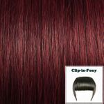 Clip-In-Pony burgund#32 1