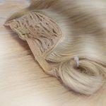 Ponytail-Pferdeschwanz 50cm goldbraun#07 4