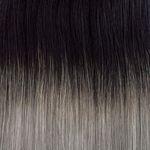 Ponytail-Pferdeschwanz 50cm ombré#01/grau 3