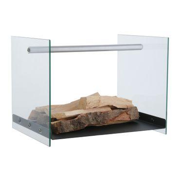 Holzlege, ca. 42 x 33 x 32 cm – Bild 1