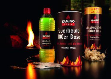 Feuerbeutel 100 Stück in Dose – Bild 2