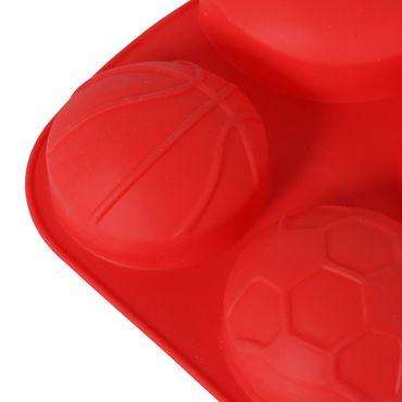 Backform Silikon, Ball-Design Auflauf Kuchenform Backform Silikonbackform – Bild 3