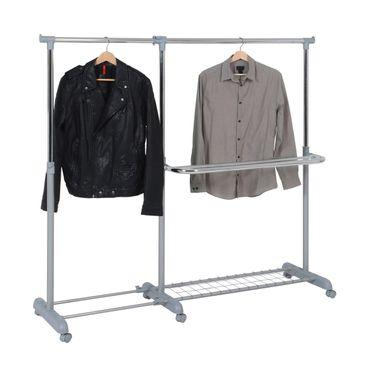 Garderoben-/Wäscheständer ausziehbar – Bild 1
