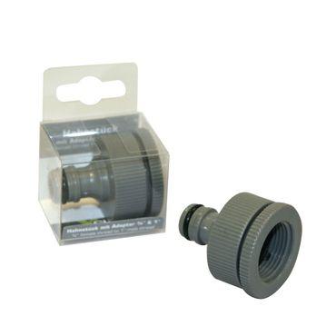 Hahnstück m. Adapter 19 mm  u 26 mm