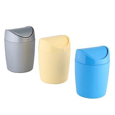 Tischabfallbehälter Schwingdeckeleimer Mülleimer Abfalleimer Eimer Papierkorb