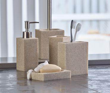 "WC-Garnitur Polyresin ""Solin"" – Bild 2"