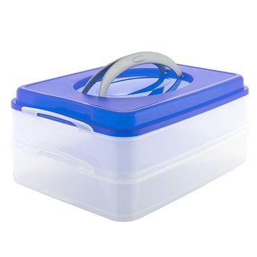 Partycontainer Kunststoff versch. Farben Transportbox Aufbewahrungsbox Picknick