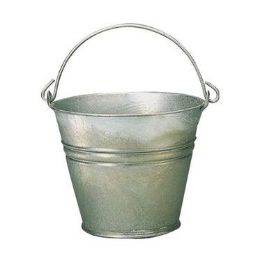 Wassereimer feuerverzinkt 11 Liter 30 cm
