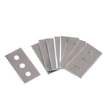 Ersatzklingen für Reinigungsschaber 10 Stück Ersatzteile Glasschaber