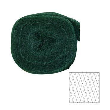 Vogelschutznetz schwarz 2x5m Laubnetz Teichnetz Gartennetz Pflanzenschutznetz