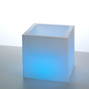 LED Würfel offen 38 cm hoch m. Fernbed. – Bild 5