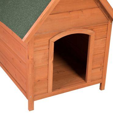Ribelli® Hundehütte Holz, ca. 66 x 74 x 82,5 cm – Bild 5