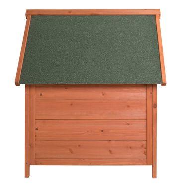 Ribelli® Hundehütte Holz, ca. 66 x 74 x 82,5 cm – Bild 3