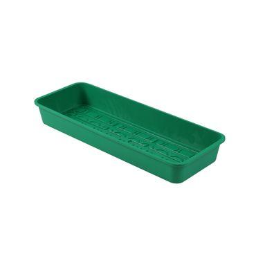 Kunststoffschale grün für Zimmergewächshaus 54x20x6cm